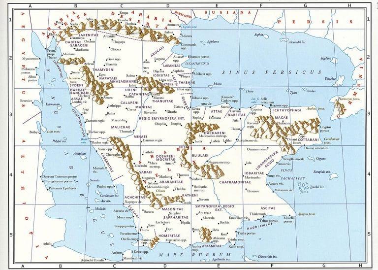 Map-Arabia